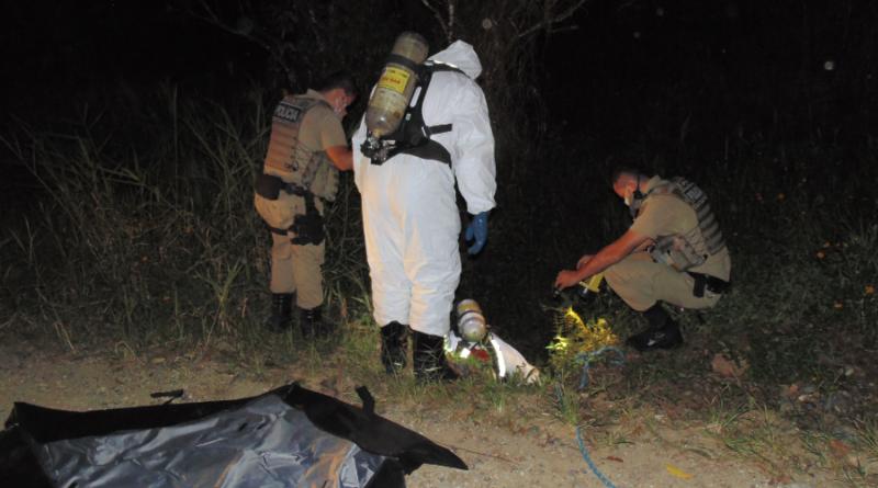 Cadáver é encontrado na noite deste sábado (21), na região norte de Blumenau