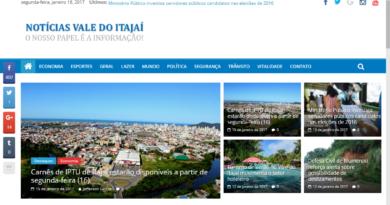 Foto: Reprodução / Notícias Vale do Itajaí