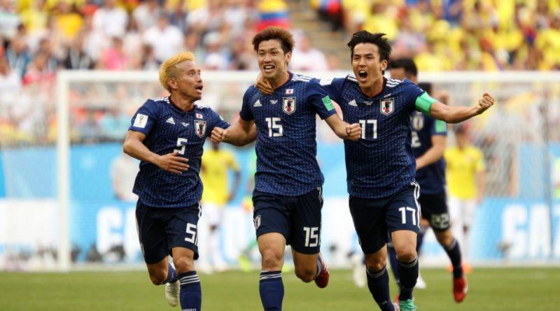 Colombia perde para Japão pelo grupo H da Copa