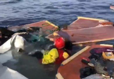 ONG acha corpos de mulher e menino no mar e acusa Líbia
