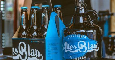 Cerveja Alles Blau começa a chegar a diversos pontos de vendas de Santa Catarina