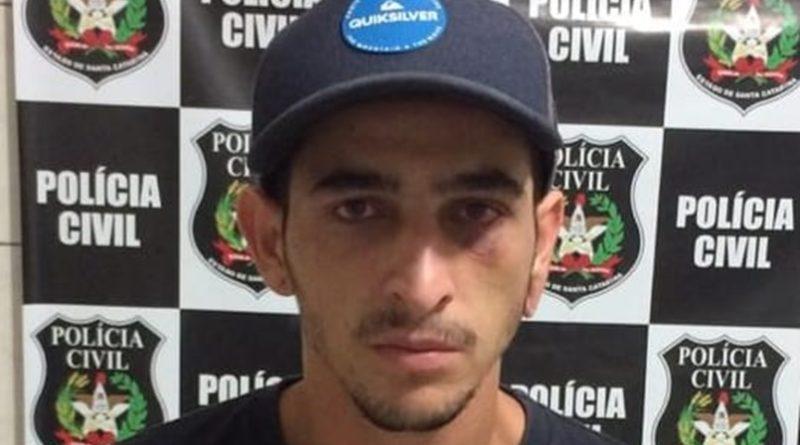 Traficante de drogas é preso pela Polícia Civil em Gaspar