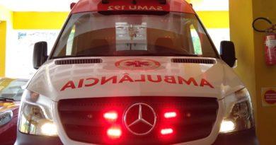 Samu de Balneário Camboriú recebe nova ambulância