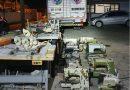 Polícia Militar recupera máquinas de costura furtadas, em Blumenau