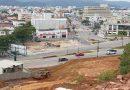 Cinco imóveis são demolidos para estruturação de elevado em Balneário Camboriú