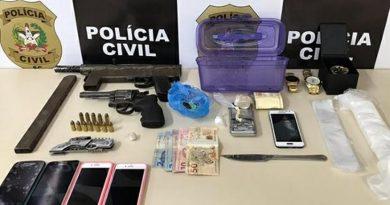 Grupo é detido pela Polícia Civil por tentativa de homicídio registrado em Gaspar