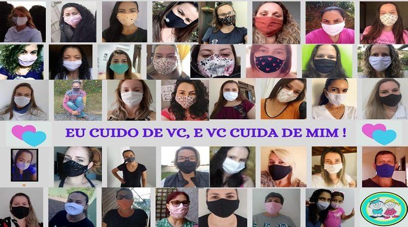 CDI de Gaspar cria Varal Solidário para a distribuição de máscaras
