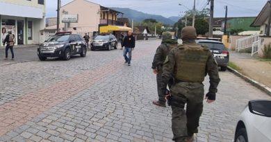 Polícia Civil captura, em Timbó, líder de organização criminosa nacional que atua no Pará