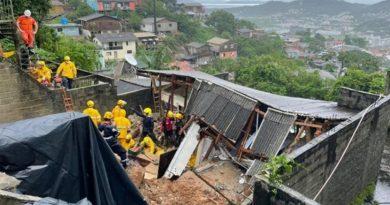 Corpo de Bombeiros e Defesa Civil atuam para minimizar estragos causados pela chuva em SC