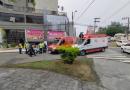 Idosa fica ferida após ser atropelada por um carro, em Blumenau