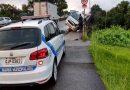 Veículo colide contra mureta da Ponte do Tamarindo