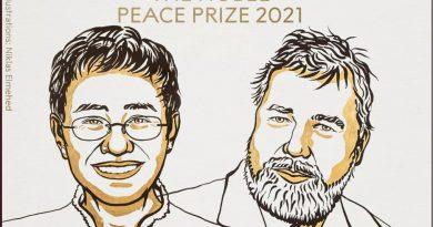 Nobel da Paz premia jornalistas